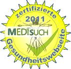 ZertifizierteMedisuch-Gesundheitswebseite