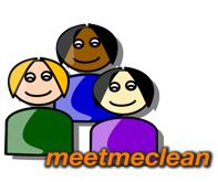 Online-Community für abstinente Abhängige - meetmeclean